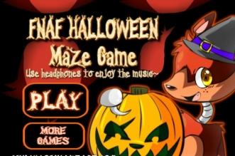 FNAF-Halloween-Maze-Game