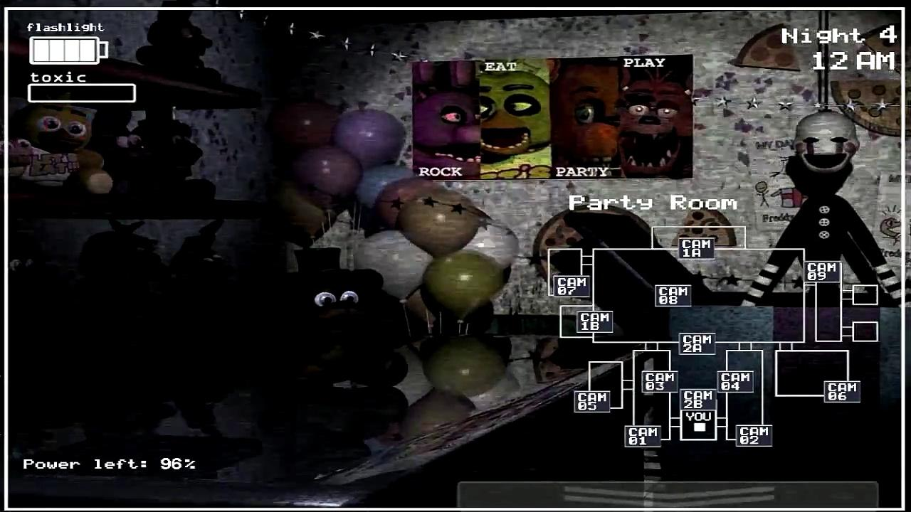 Five Nights At Freddy S Fan Made Games: Five Nights At Freddy's 3