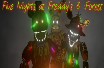 Five Nights at Freddy's In Forest Fnaf Free Roam Unreal