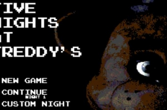 If Five Nights at Freddy's for the Nintendo Entertainment System
