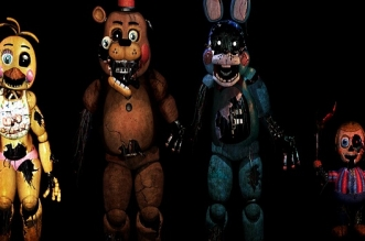 Five nights at freddy's Brokes BETA