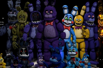 Five Nights At Freddy's Platformer