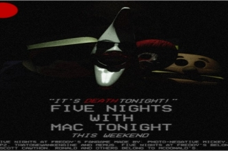 Five Nights with Mac Tonight