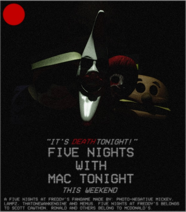 Five Nights with Mac Tonight