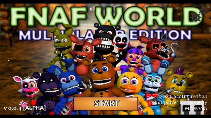 FNaF World - Multiplayer Edition