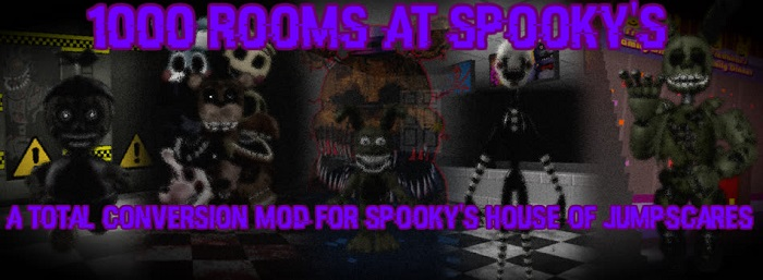 1000 Rooms at Spooky's - A SHoJ FNaF mod!