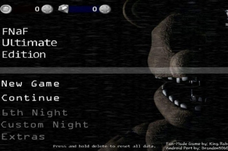 Fnaf Ultimate Edition