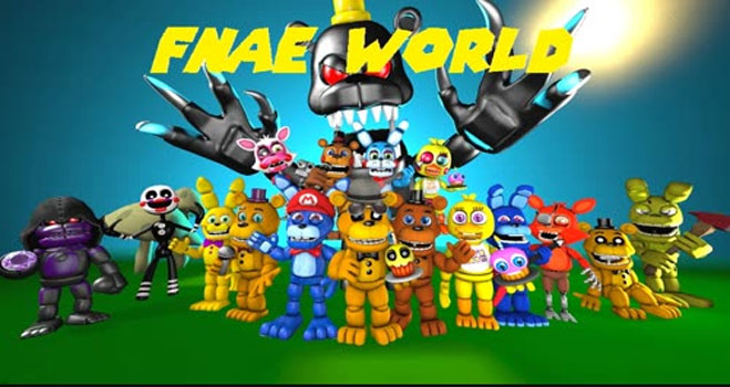 Five Nights At Eth's World