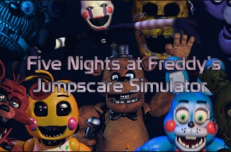 Five Nights at Freddy's 1-5 Jumpscare Simulator
