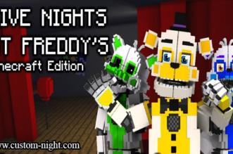 Five Nights at Freddys : Minecraft Edition