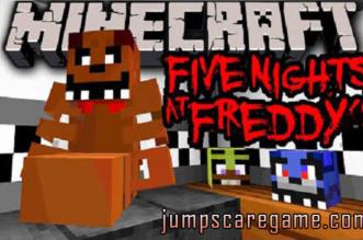 Fnaf Minecraft Map