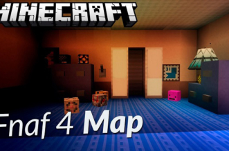 Fnaf 4 Minecraft Map